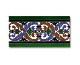 Azulejo cenefa P110