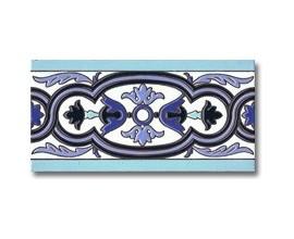 Azulejo cenefa P163