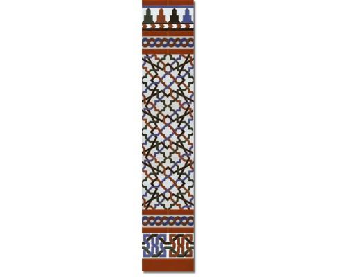 Arabian wall tiles ref. 520M Height 58.27 In.