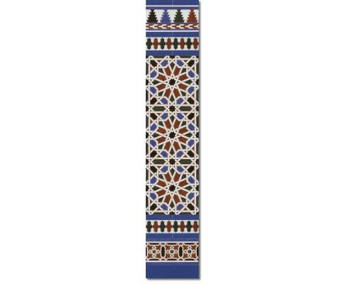 Arabian wall tiles ref. 540A Height 58.27 In.