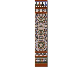 Arabian wall tiles ref. 560M Height 58.27 In.