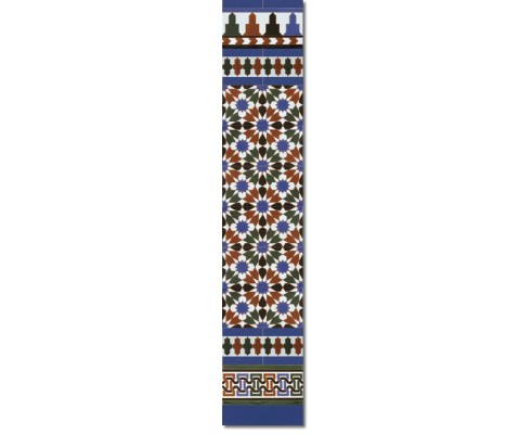 Arabian wall tiles ref. 570A Height 58.27 In.