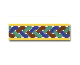 Azulejo cenefa C138
