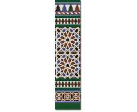Arabian wall tiles ref. 540V Height 47.24 In.