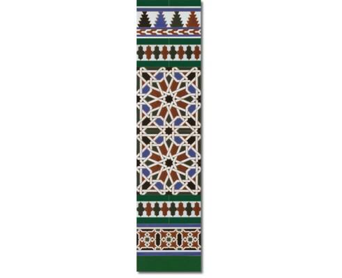 Zócalo Árabe mod.540V - Altura 120cm.