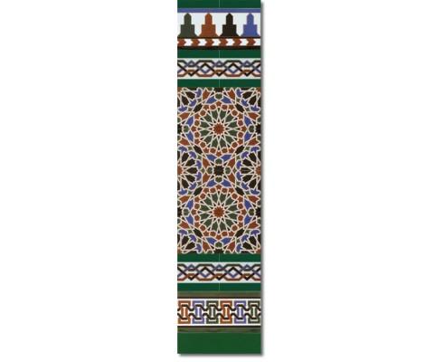 Arabian wall tiles ref. 560V Height 47.24 In.