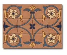 Mural de azulejos modelo CS8037