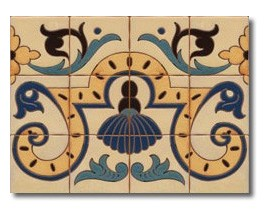 Mural de azulejos modelo CS8051
