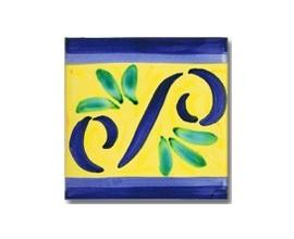 Azulejo pincelado cenefa SV2088