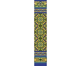 Zócalo Sevillano mod.138 - Altura 148cm.