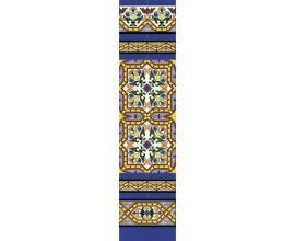 Zócalo Sevillano mod.184 - Altura 120cm.