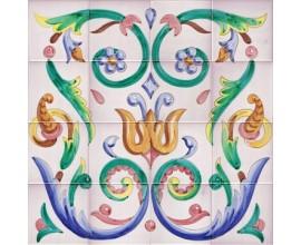 Mural de azulejos modelo SV9011
