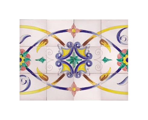 Mural de azulejos modelo SV9041