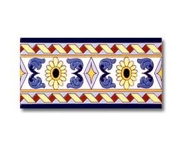 Azulejo cenefa P125
