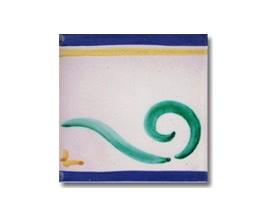 Azulejo pincelado cenefa SV2057