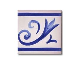 Azulejo pincelado cenefa SV2113