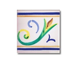 Azulejo pincelado cenefa SV2119