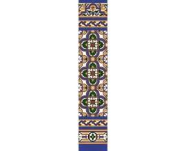 Zócalo Sevillano mod.106 - Altura 148cm.